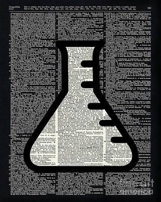 Clip-art Digital Art - Chemistry - Alchemy Vial by Jacob Kuch