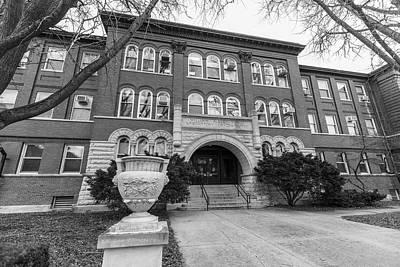 Photograph - Chemistry Building University Of Illinois  by John McGraw