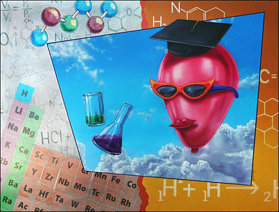 Painting - Chemistry by Jack Knight
