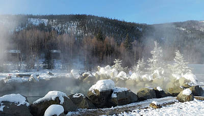 Photograph - Chena Hot Springs Fairbanks Alaska by Jani Freimann