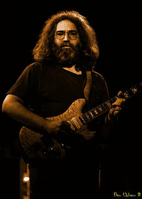Jerry Garcia Photograph - Cheney Art #5 In Amber by Ben Upham