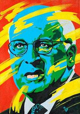 Dick Cheney Painting - Cheney by Dennis McCann
