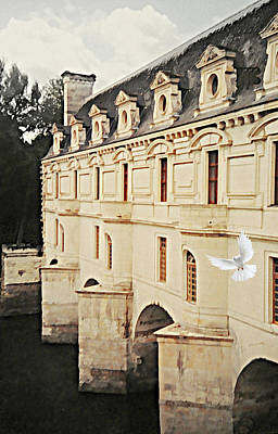 Chenonceau Dreams Art Print
