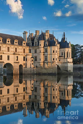 Chenonceau Morning II Art Print