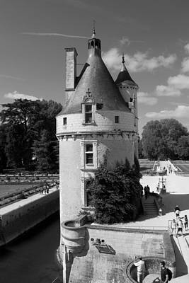 Photograph - Chenonceau Tower by Eric Tressler