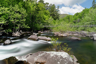 Photograph - Cheoah River by Nicholas Blackwell