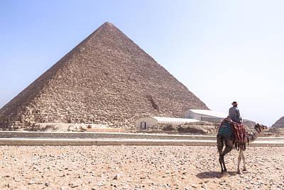 Cheops Pyramid - Egypt Art Print by Joana Kruse