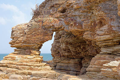Photograph - Chepillo Island Rocks 2 by Herb Paynter