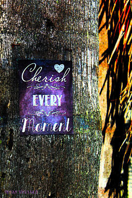 Cherish Every Tropical Moment Art Print by Susan Vineyard