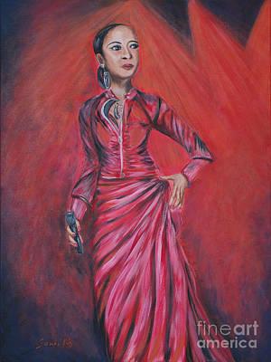 Painting - Cherish The Day. Painting.  Soul Inspirations Collection by Oksana Semenchenko