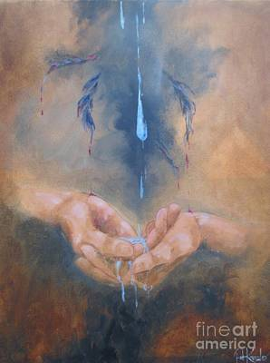 Painting - Cherish Water Protectors by Patricia Kanzler