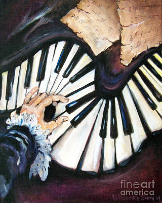 Painting - Cherished Music by Deborah Smith