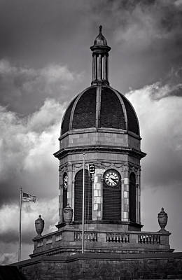 Dramatic Photograph - Cherokee County Cupola In Black And White by Greg Mimbs