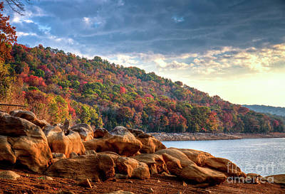 Art Print featuring the photograph Cherokee Lake Color II by Douglas Stucky