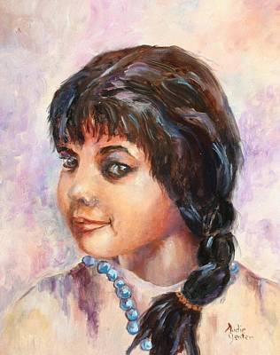 Cherokee Princess Art Print by Audie Yenter