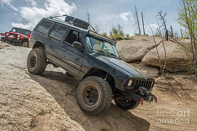 Photograph - Cherokee Xj by Tony Baca