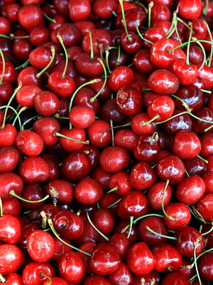 Photograph - Cherries by David Dunham