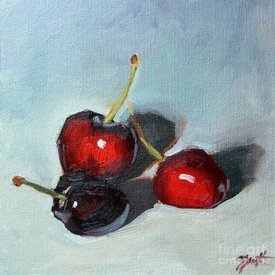Painting - Cherries Jubillee by Sandra Smith-Dugan