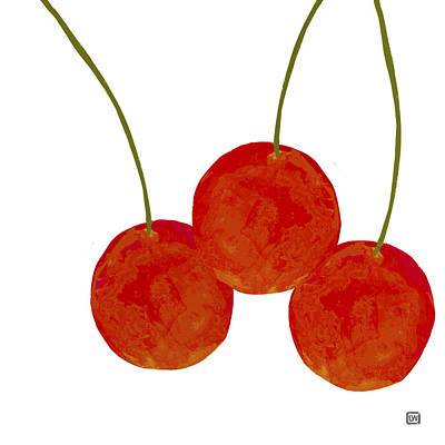 Painting - Cherries by Lisa Weedn