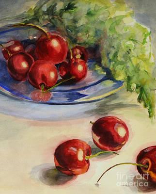 Cherries Art Print by Lori McCray