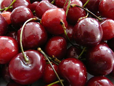 Photograph - Cherries by Valerie Ornstein