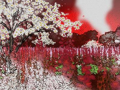 Cherry Blossoms Digital Art - Cherry Afternoon by Monroe Snook