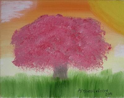 Cherry Blossom Art Print by Artists With Autism Inc