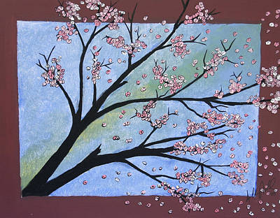 Cherry Blossoms Painting - Cherry Blossom by Anthony Nold