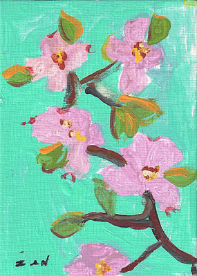 Painting - Cherry Blossom by Ian Reynolds
