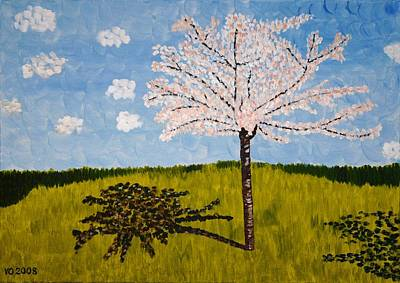 Painting - Cherry Blossom Tree by Valerie Ornstein