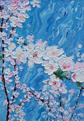 Cherry Blossoms 1 Art Print by Timothy Clayton