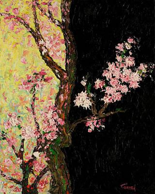 Cherry Blossoms 3 Art Print by Timothy Clayton