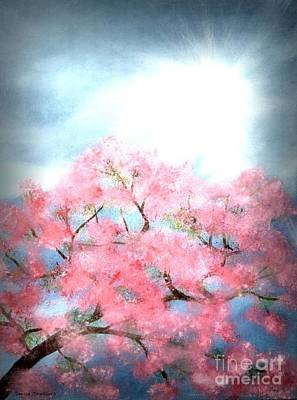 Painting - Cherry Blossoms by Denise Tomasura