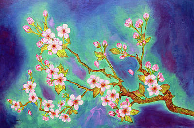 Painting - Cherry Blossoms by Janet Immordino