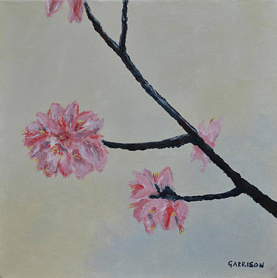 Painting - Cherry Blossoms by Marina Garrison