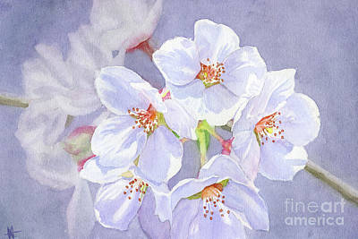 Painting - Cherry Blossoms by Michelle T Williams