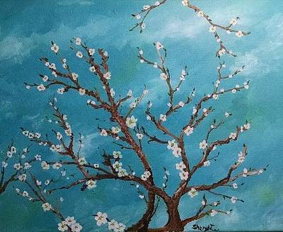 Painting - Cherry Blossoms by Sheryl Lee