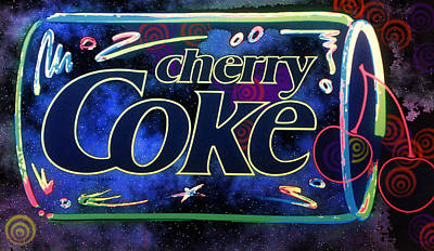 Johnkeaton Digital Art - Cherry Coke 2 by John Keaton