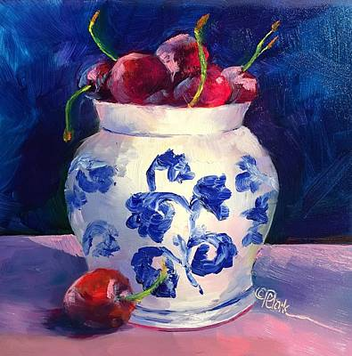 Painting - Cherry Delights by Donna Pierce-Clark