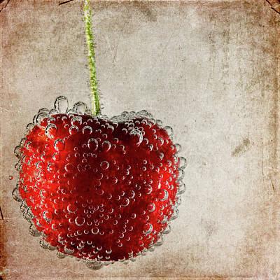 Cherry Fizz Art Print by Al  Mueller