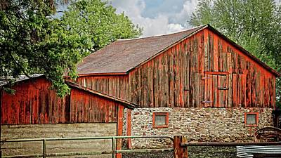 Photograph - Cherryvale Barn, Boulder, Colorado by Flying Z Photography by Zayne Diamond