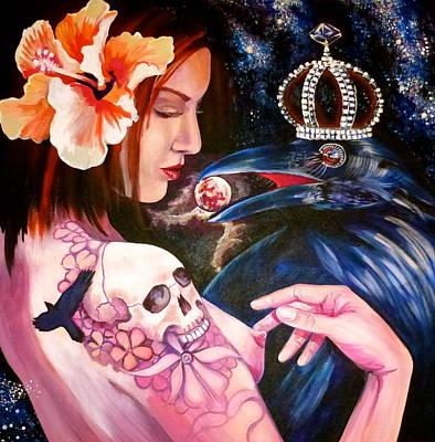 Painting - Cherry Found by Yelena Tylkina