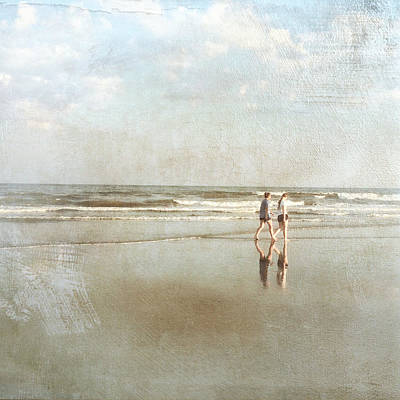 Cherry Grove Beach Walk Art Print