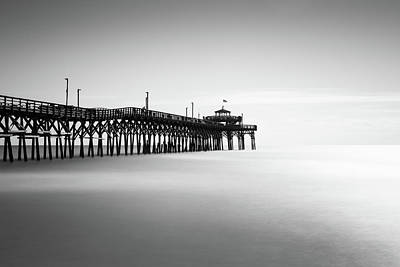 Fishing Pier Photograph - Cherry Grove Fishing Pier by Ivo Kerssemakers