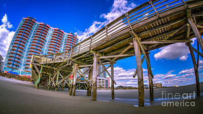 Photograph - Cherry Grove Pier And Resort by David Smith