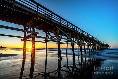 Photograph - Cherry Grove Pier Sunrise by David Smith