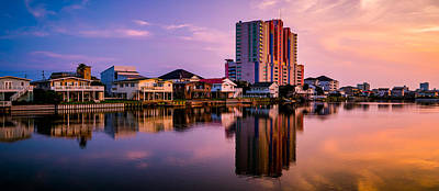 Photograph - Cherry Grove Skyline by David Smith