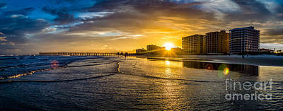 Photograph - Cherry Grove Sunset by David Smith