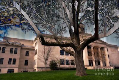 Kentucky Photograph - Cherry Hall by Jeff Sebaugh