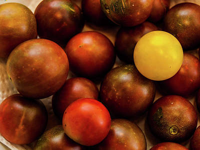 Photograph - Cherry Heirloom Tomatoes by Randy Sylvia